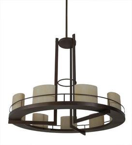 68″W Loxley Tac Air 9 LT Chandelier