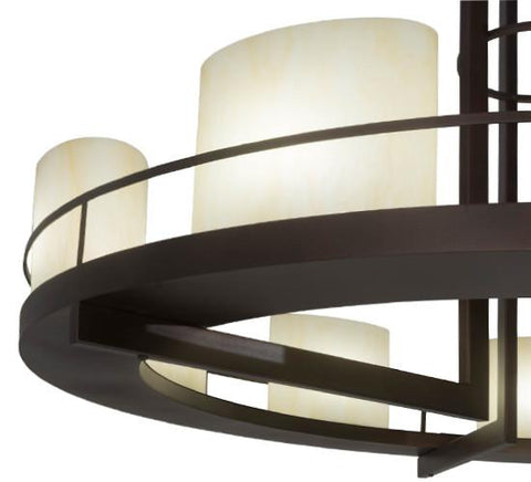 Image of 68″W Loxley Tac Air 9 LT Chandelier