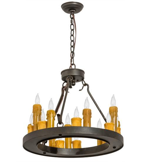 "21""W Deina 18 LT Chandelier - Joskat Lighting"
