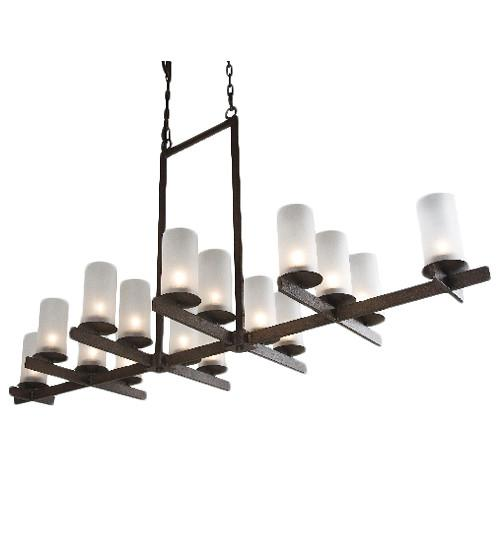 "72"" Long Dante 16 Light Chandelier"