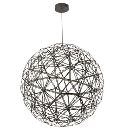 "Image of 44""Wide Geosphere 92 Light Pendant"