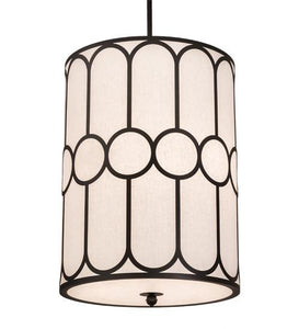 "30"" Wide Cilindro Homer 6 LT Pendant"