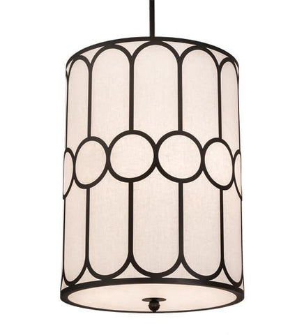 "Image of 30"" Wide Cilindro Homer 6 LT Pendant"