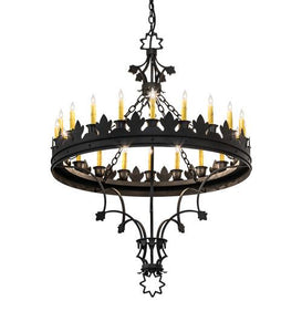 "36"" Wide Seville 20 Light Chandelier"