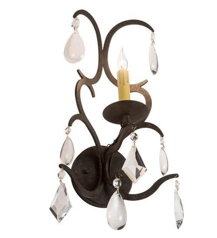 wide alicia wall sconce