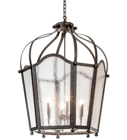 "Image of 32"" Wide Citadel 6 Light Pendant"