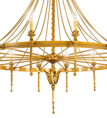 "Image of 56"" Wide Amaury 16 Light Chandelier"