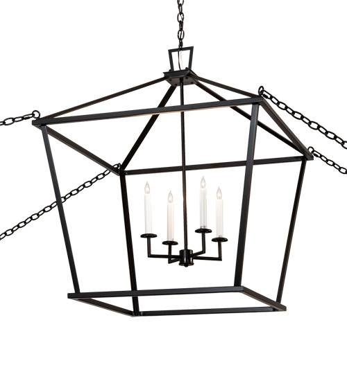"32"" Square Kitzi Tapered Pendant - Joskat Lighting"