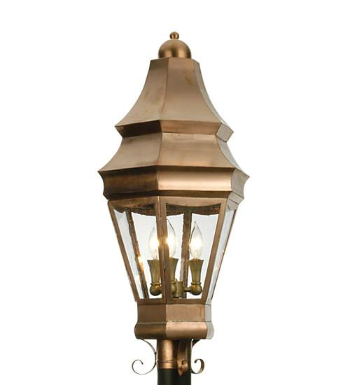"14"" Wide Statesboro Post Mount - Joskat Lighting"