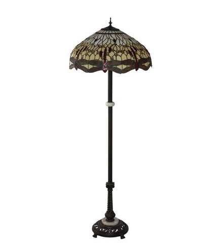 Image of Dragonfly design floor lamp