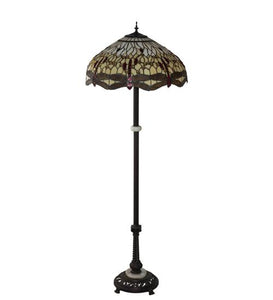 Dragonfly design floor lamp