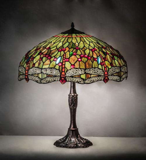 table lamp tiffany dragonfly