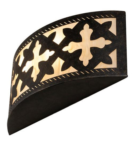 "Image of 18"" Wide Cardiff Wall Sconce"