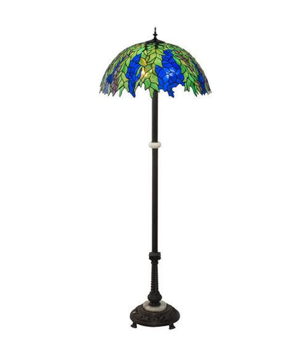 Image of floral floor lamp nature blend