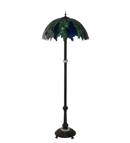 Image of  tiffany honey locust floor lamp