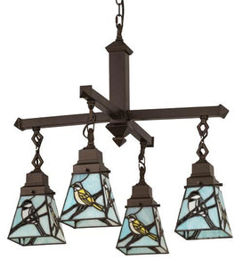bird lover design chandelier