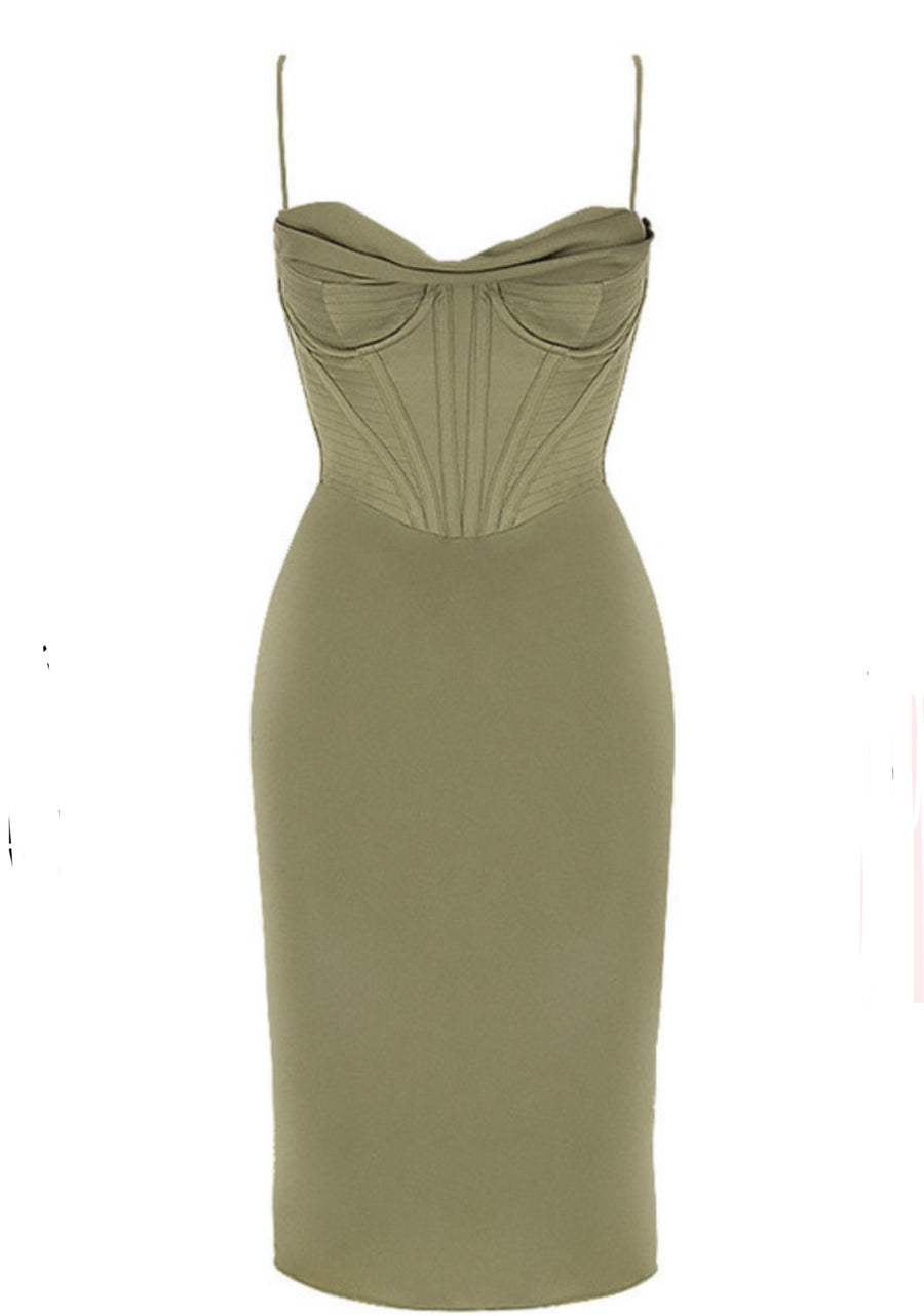 Heather Seductive Love Midi Dress