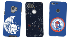 Lady Astronaut Phone Cases