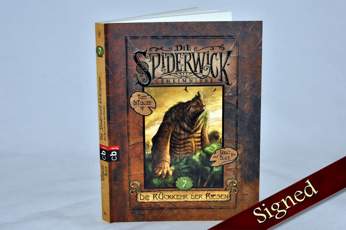 A Giant Problem by Holly Black and Tony DiTerlizzi (German Edition)