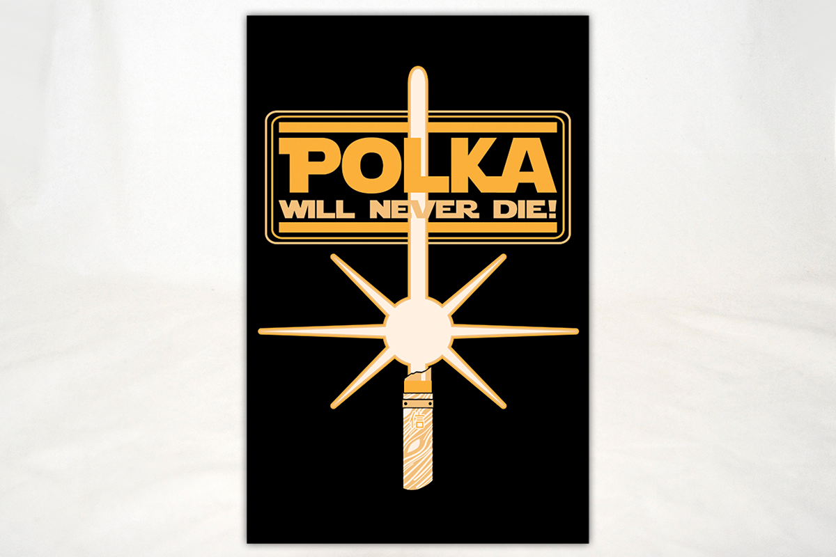 Less Than Perfect The Dresden Files Polka Will Never Die Print