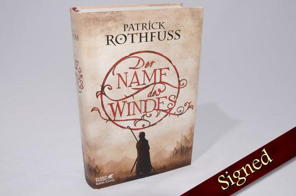 The Name of the Wind by Patrick Rothfuss (German Edition)