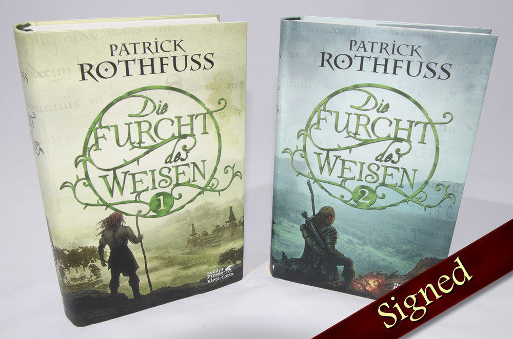 The Wise Man's Fear by Patrick Rothfuss (German Edition)