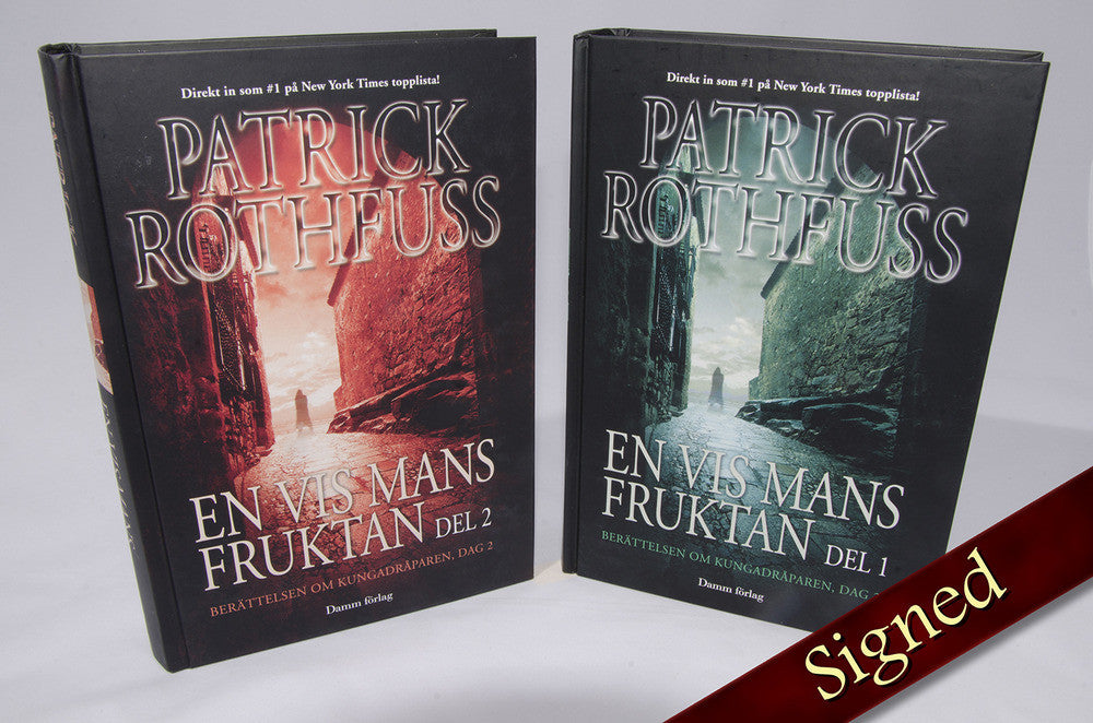 The Wise Man's Fear by Patrick Rothfuss (Swedish Edition)