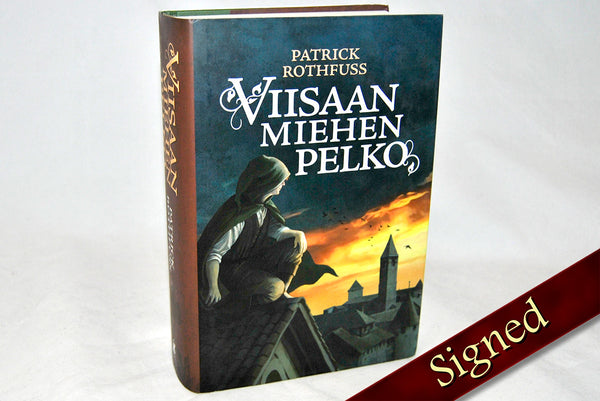 The Wise Man's Fear by Patrick Rothfuss (Finnish Edition)