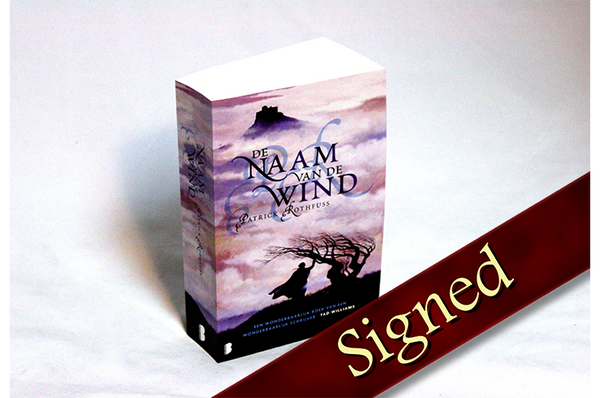 The Name of the Wind by Patrick Rothfuss (Dutch Edition)