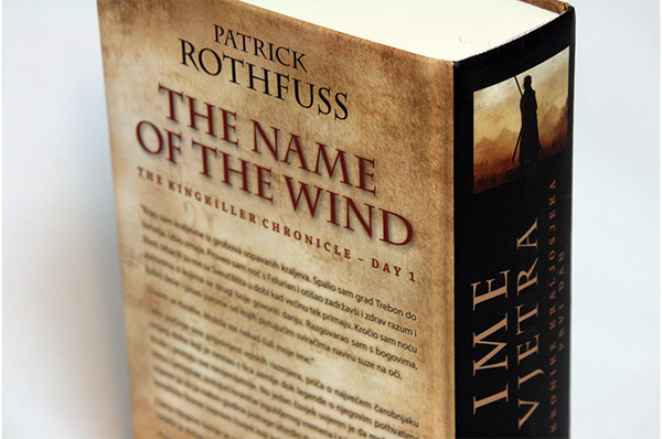 The Name of the Wind by Patrick Rothfuss (Croatian Edition)
