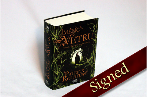 The Name of the Wind by Patrick Rothfuss (Czech Edition)