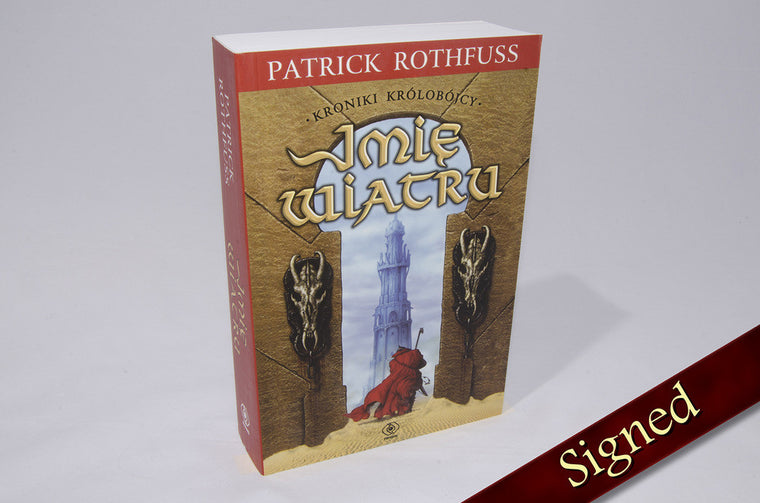 The Name of the Wind by Patrick Rothfuss (Polish Edition)