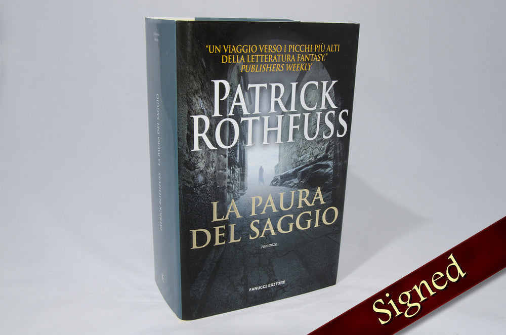 The Wise Man's Fear by Patrick Rothfuss (Italian Edition)