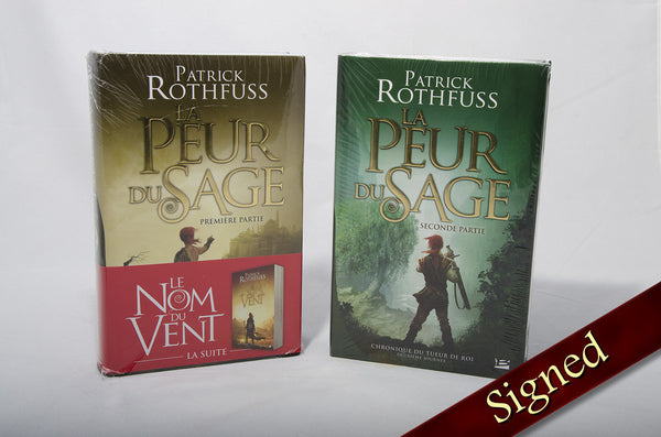 The Wise Man's Fear by Patrick Rothfuss (French Edition)