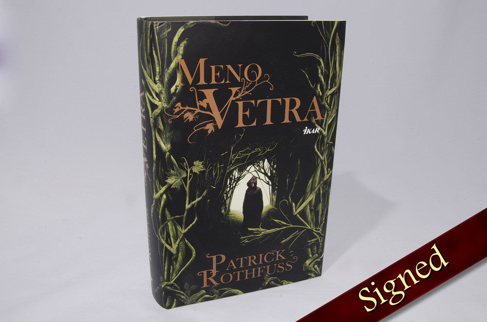 The Name of the Wind by Patrick Rothfuss (Slovak Edition)