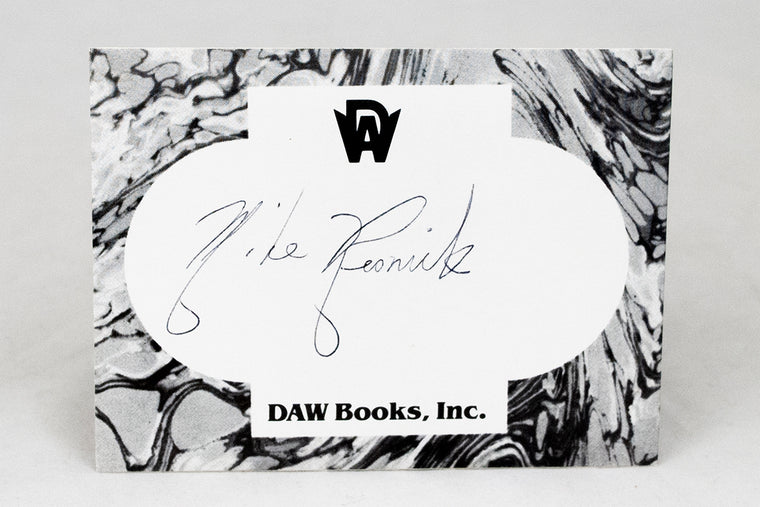 Mike Resnick Signed Bookplate
