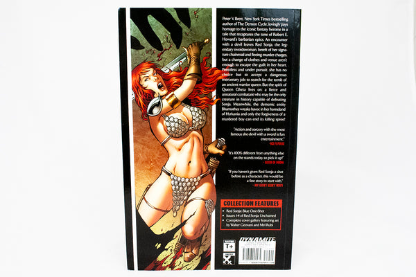 Red Sonja: Unchained volume 1 - signed by Peter V. Brett