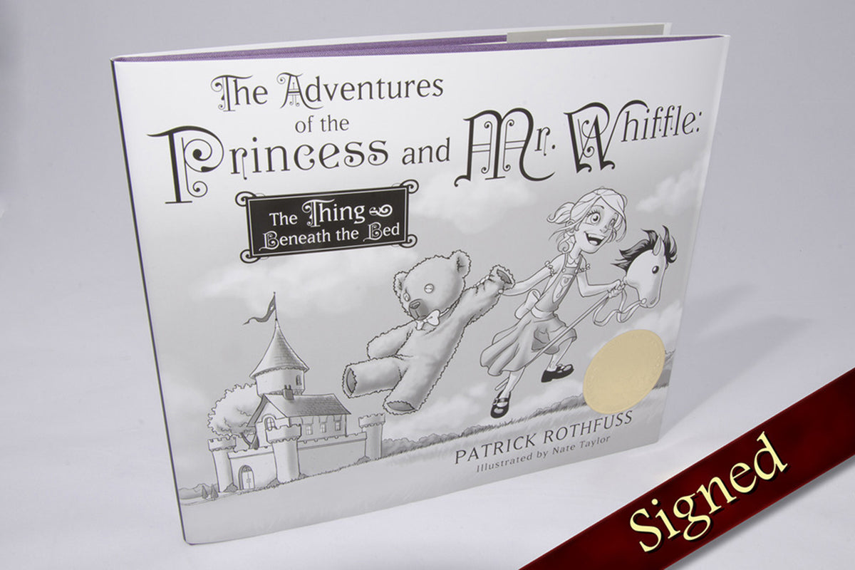 The Adventures of the Princess and Mr. Whiffle: The Thing Beneath The Bed - Double Signed