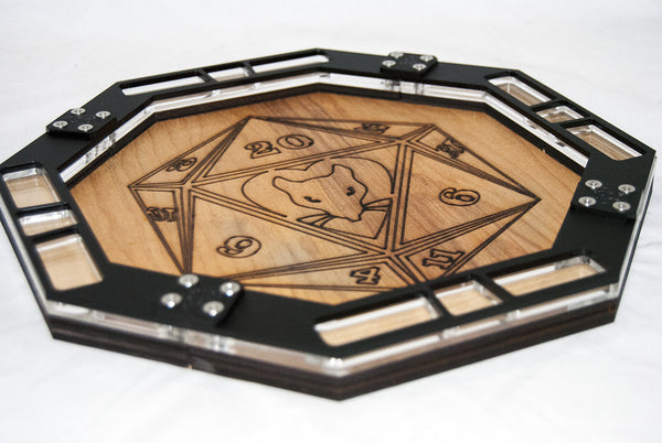 Less Than Perfect Rat Queens Dice Tray