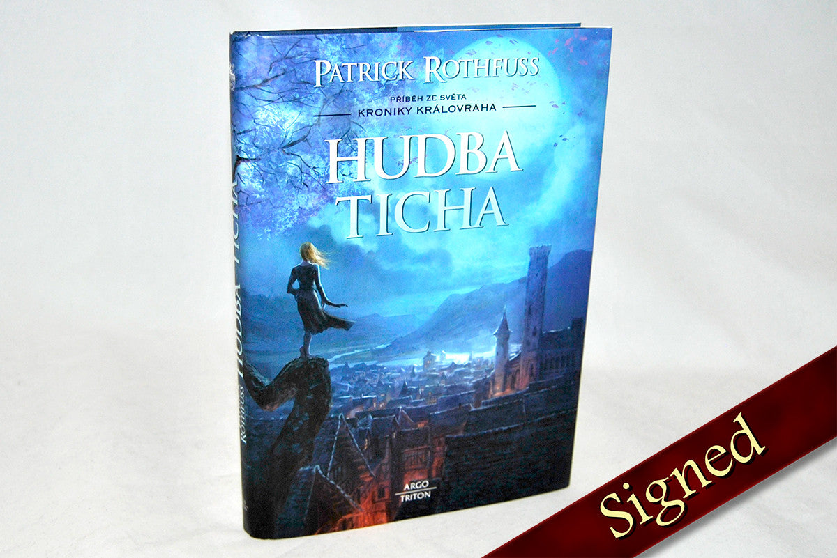 The Slow Regard of Silent Things by Patrick Rothfuss (Czech Edition)