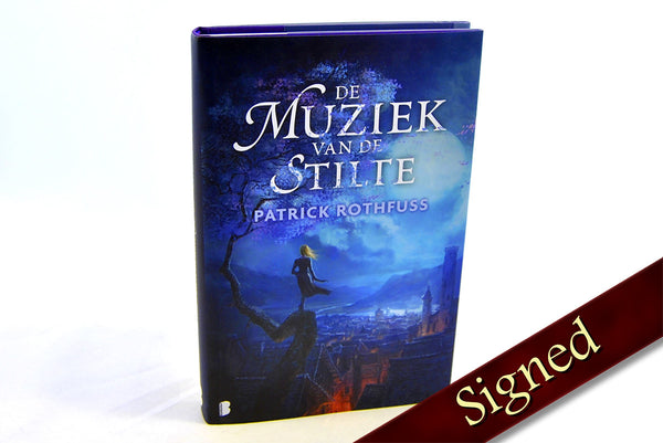 The Slow Regard of Silent Things by Patrick Rothfuss (Dutch Edition)