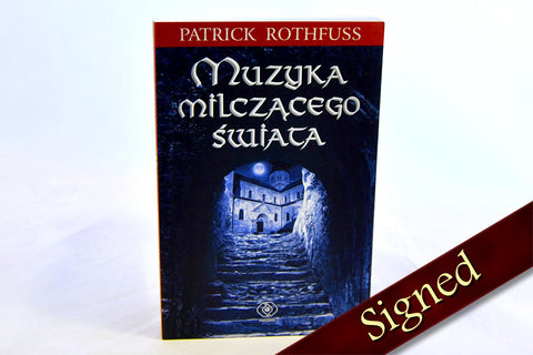 The Slow Regard of Silent Things by Patrick Rothfuss (Polish Edition)