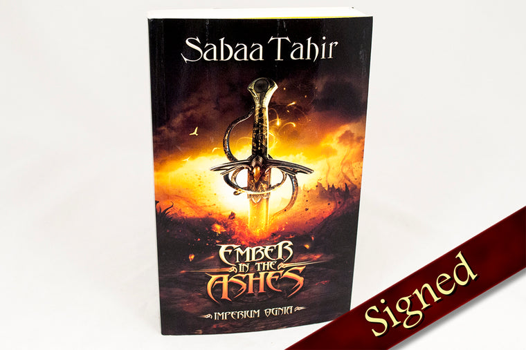 An Ember in the Ashes by Sabaa Tahir (Polish Edition)