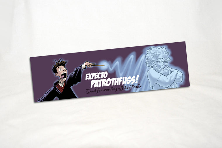Expecto Patrothfuss Bookmark