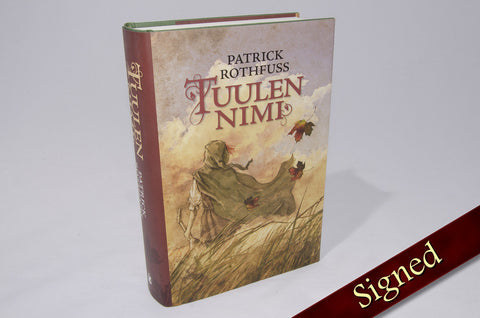 The Name of the Wind by Patrick Rothfuss (Finnish Edition)