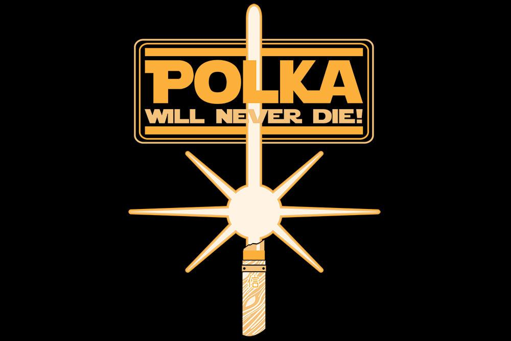 Apparel - Polka Will Never Die T-shirt