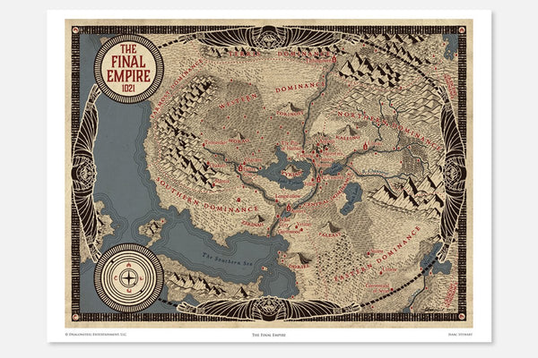 Art - Mistborn - Final Empire Map