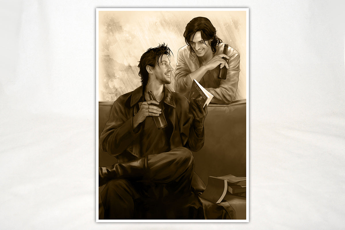 Art - The Dresden Files Cheers Print