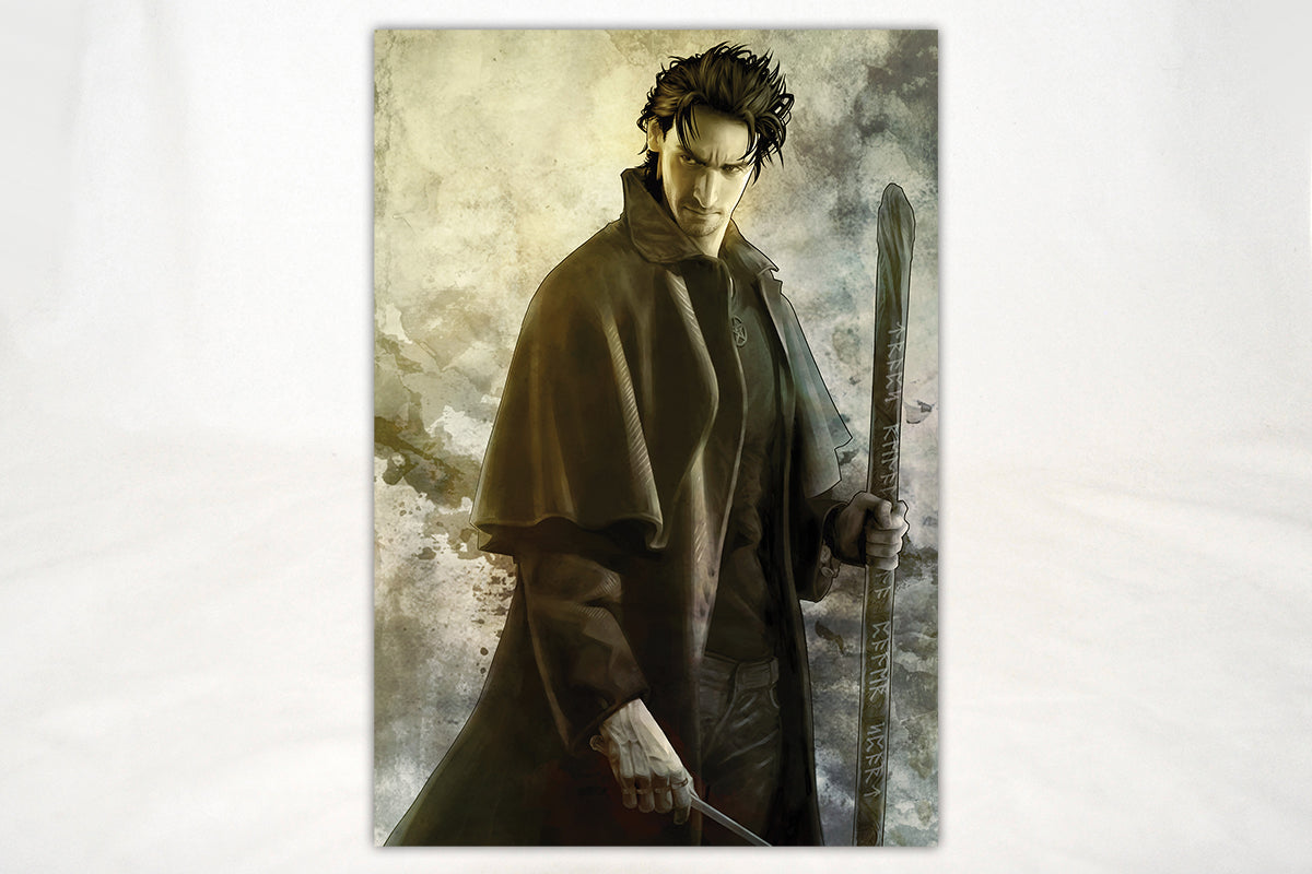 Art - The Dresden Files Grumpy Harry Print