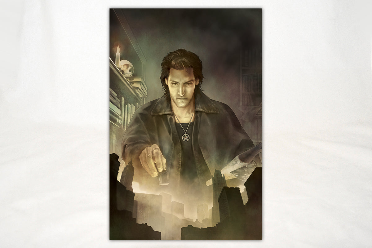 Art - The Dresden Files Little Chicago Print
